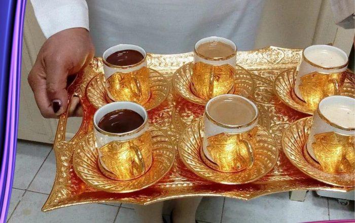 خدمة شاي وقهوه